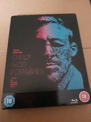 Only God Forgives Blu-Ray Steelbook With Slip-Cover