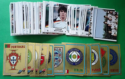 PANINI EC EURO 84 - stickers/badges at your choice n.132/258 - removed vg cond.