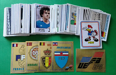 PANINI EC EURO 84 - stickers/badges at your choice n.1/131 - removed vg cond.