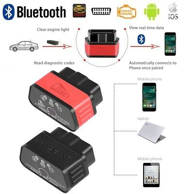 interface elm 327 bluetooth obd2 odb2 diagnostique diag scan torque android eur 10 90. Black Bedroom Furniture Sets. Home Design Ideas