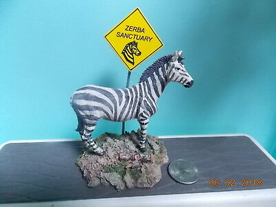Zebra Picture/Note Holder