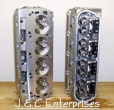 NEW PERFORMANCE 289-302-351W Ford Cylinder Heads Sbf  500 Springs 195Cc  Intake