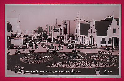 Unposted card May 1938. Kingsway, Empire Exhibition, Scotland