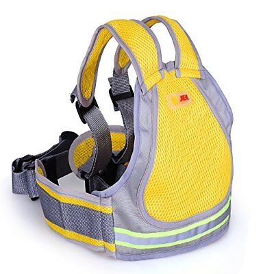 Jolik Child Motorcycle Safety Harness with 4-in-1 Buckle, Breathable Material in