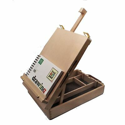 Table top wooden easel storage Loxley chatworth Large small