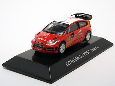 1/64 CM's Rally Car Collection SS19 #S CITROEN C4 WRC Test Car Special