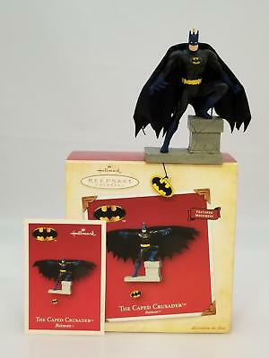 Hallmark Keepsake Ornament 2004 The Caped Crusader - Batman - #QXI4041-SDB