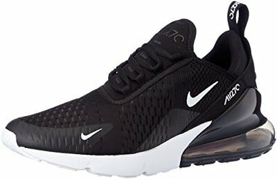 NIKE Mens Air Max 270 Running Black/White/Solar Red/Anthracite AH8050-002 Size 9