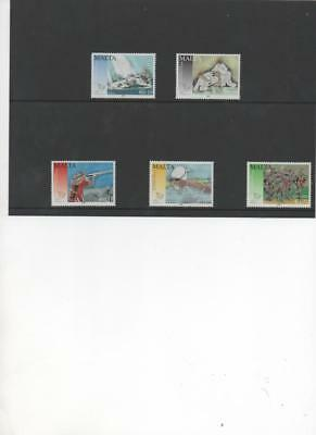 Malta 2009 Games of small states set of 5 stamps SG 1622-7