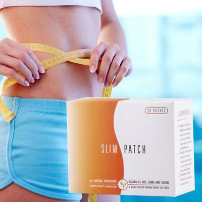 30 x Slim Patch Highly Effective Natural Weight Loss Magnetic Patch Fat Burning