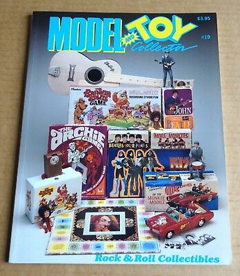 "USA BACK ISSUE  ""MODEL & TOY COLLECTOR""  No 19  ""ROCK & ROLL COLLECTIBLES""  1992"