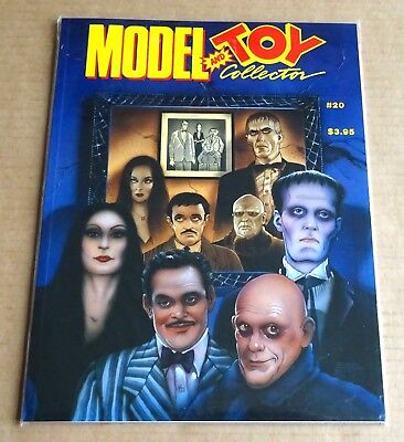 "USA BACK ISSUE  ""MODEL & TOY COLLECTOR""  No 20  ""THE ADDAMS FAMILY""  1992"