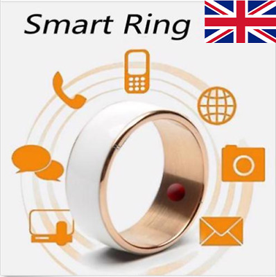 UK NEW Waterproof NFC Smart Wearable Magic Finger Ring For Android Phone BS