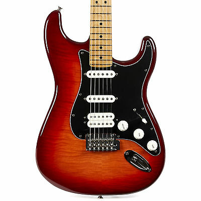 Fender Player Series Stratocaster HSS Maple - Aged Cherry Burst Demo