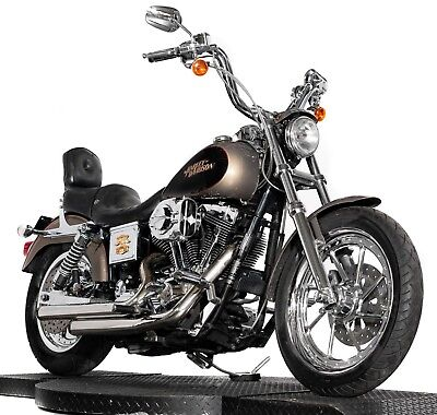 2004 Harley-Davidson Dyna  2004 Dyna Lowrider Low Rider FXDLI Two-Tone Gold & Black Chromed Out Many Extras