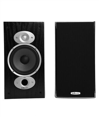 Polk Audio RTiA3 BLACK 2 Way RTi Bookshelf Speakers NEW PAIR