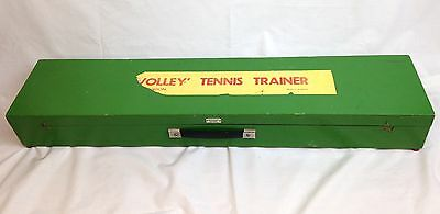 Vintage Abercrombie & Fitch Volley Tennis Trainer In Wooden Case Made In England