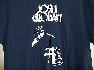 JOSH GROBAN 2005 Closer Tour Rock Concert Music Large T Shirt