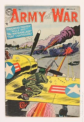 Our Army at War #29 1954 GD/VG 3.0