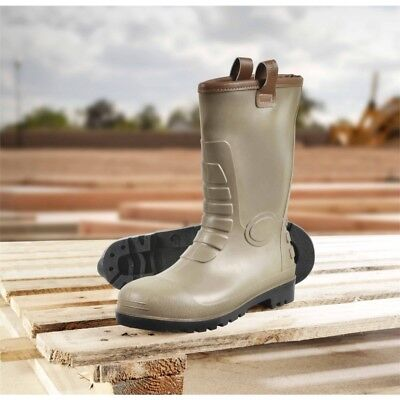 Glenwear Stirling Pvc Rigger Safety Boot, Size 6