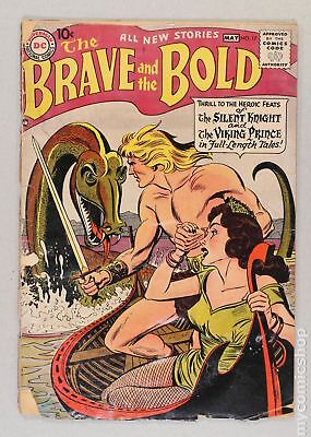 Brave and the Bold (1st Series DC) #17 1958 GD- 1.8
