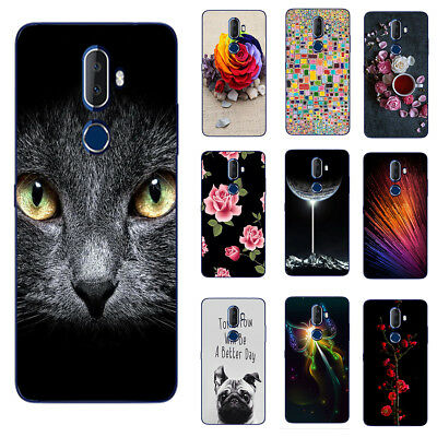 For Alcatel 3V 3X 3C 3 3L Cell Phone Protective TPU Cover Case Butterfly Cat Dog