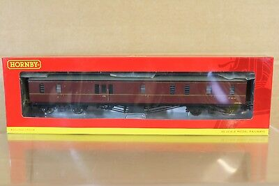 Hornby R4409A Br Maroon Hawksworth Personen Bremse Coach W325W Verpackt Nq