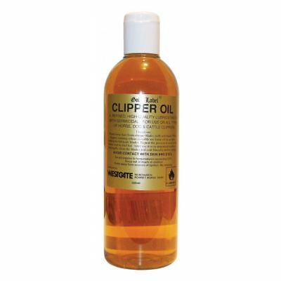 Gold Label Clipper Oil Lubricant Oil For Use On Clippers For Horses Cattle