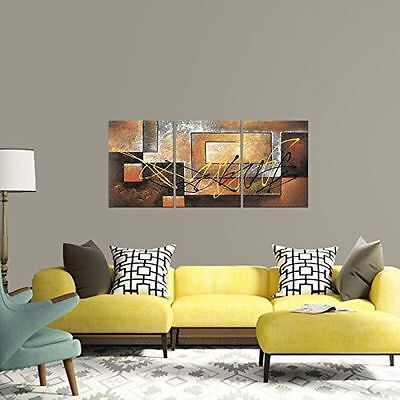 ZWPT302  3pcs hand-painted moder abstract wall decor art oil painting canvas