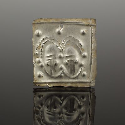 Superb Ancient Celtic Silver Applique - Circa 50Bc