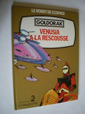 GOLDORAK - Venusia à la rescousse - GP Rouge et or - 1979 -