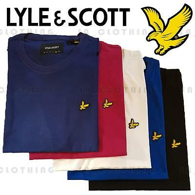 Lyle and Scott Polo Mens Crew Neck Short Sleeve T shirt New with Tags