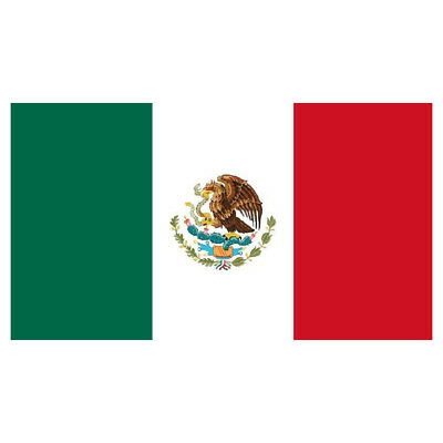 3x5 Mexico Flag Mexican Banner Pennant for Indoor Outdoor