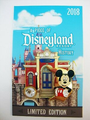 DISNEY Pin Piece of DISNEYLAND History GUIDED TOURS Building