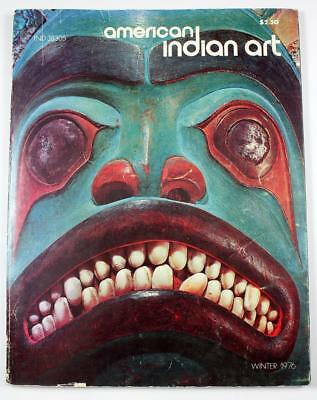 American Indian Art Magazine Winter 1976 - Prehistoric Jewelry Rattles of NW