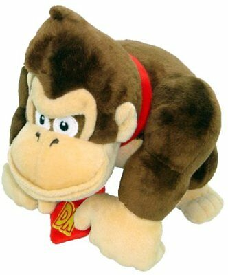 """DONKEY KONG PLUSH 9"""" / 24cm SOFT STUFFED LICENSED OFFICIAL SUPER MARIO TOY *NEW*"""