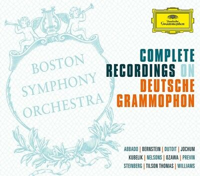 BOSTON SYMPHONY ORCHESTRA - The Complete Recordings On DG (Ltd.Edt.) CD (57 NEU