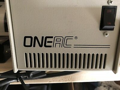 OneAc Power Line Conditioner Model CP1107