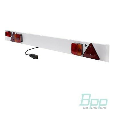 Rear bar with lights for trailer trolley boat taillight bar for signs caravan