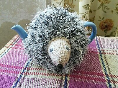 Hand Knitted Hedgehog Tea Cosy/cozy/cosies/cozies. Medium Pot. Brand New.