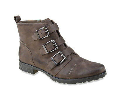 New Earthies Women's Carlow Boot Stone 7.5