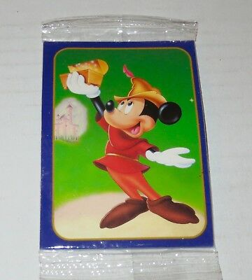 "1997 ""Fun & Fancy Free"" Walt Disney PROMO CARD SET jiminy cricket/SEALED)"