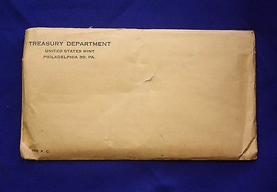 1957 U.S. PROOF SET.  Unopened envelope.