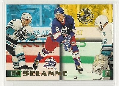 1995 Stadium Club Members Only Hockey - #43 - Teemu Selanne - Winnipeg Jets
