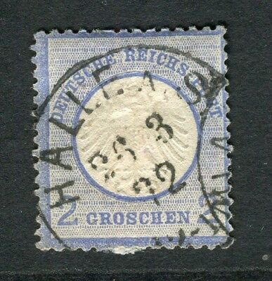 GERMANY; 1872 early classic Shield issue used 2g. value, POSTMARK