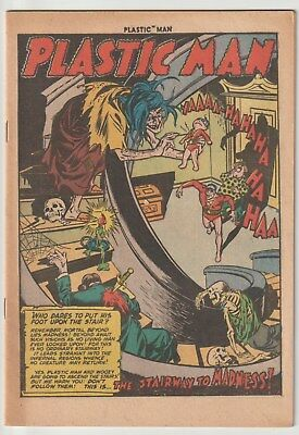 Plastic Man #39,quality,nice Coverless,complete,three Horror Theme Stories!