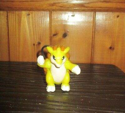 1999 Burger King Kids Meal Toy Pokemon Movie SANDSLASH Key Chain MINT NEW UNUSED