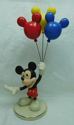 Disney Figur Lenox 819213 Mickey Mouse mit Luftballons up up away  DEFEKT