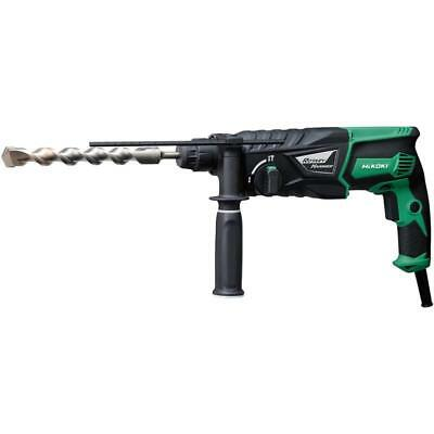 Hikoki Dh26 Px Sds+ Rotary Hammer Drill 240V In Carry Case Was Hitachi