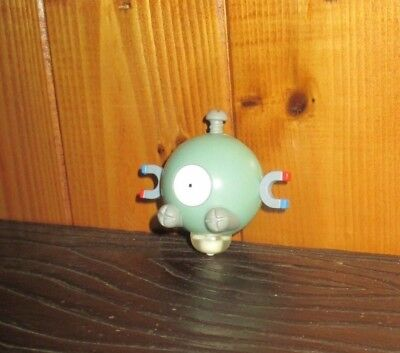 1999 Burger King Kids Meal Toy Pokemon Magnemite SPINNER MINT NEW UNUSED